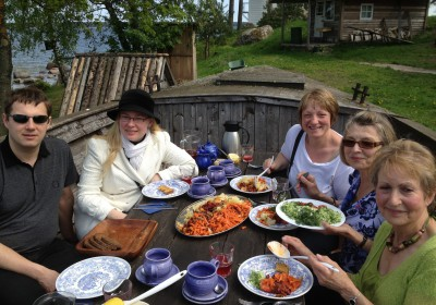 Lunch at Käsmu Maritime Museum