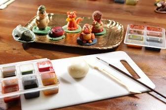 Marzipan Figurines