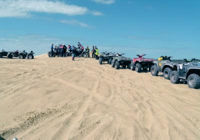Quad Bike Safari on sand track
