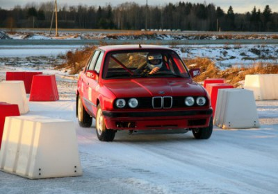 Racing in the winter