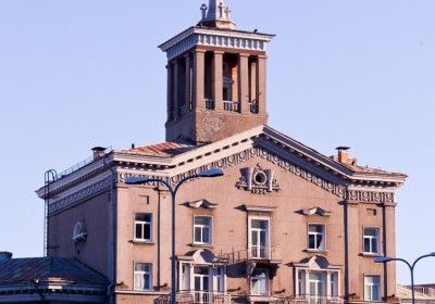 Soviet area building