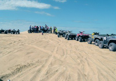 Quad Bike Safari on sand track