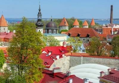 View from Toompea viewing platform