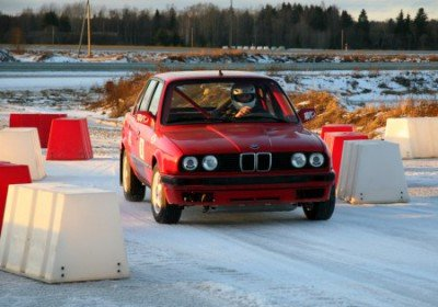 Racing in the winter