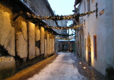St Catherine's Passage in winter