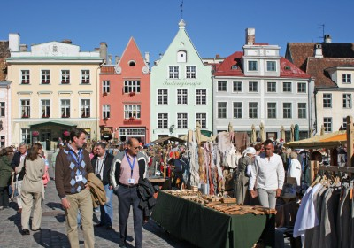 Medieval Market on Town Hall Square