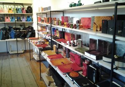 Leather studio in St.Catherine´s Guild