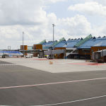 Tallinn International Airport in Estonia