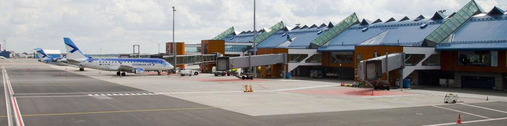 Tallinn International Airport in Estonia
