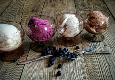 Farm home made ice-cream