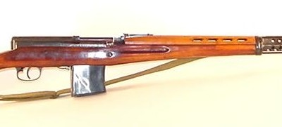SVT-40 semi-automatic battle rifle